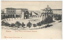 FIRENZE - Piazza Cavour E Viale Principessa Margherita - Trabert 26 - Firenze (Florence)