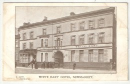 White Hart Hotel, Newmarket - 1912