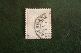 Wapenzegel 1 Cent NVPH 15 (Mi 15) 1869 Gestempeld / Used NEDERLAND / Niederlande - 1852-1890 (Guillaume III)