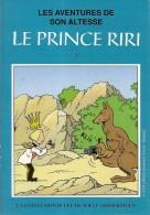 WILLY VANDERSTEEN-LE PRINCE RIRI-KANGOUROU-APPAREIL PHOTO-Bob Et Bobette-bande Dessinée - Comics