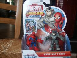 FIGURINE MARVEL SPIDERMAN ET RHINO - Spiderman