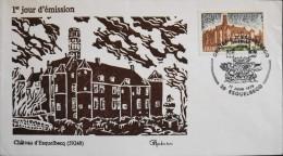 ENVELOPPE 1er JOUR 1978 - Château D'Esquelbecq - Le 17.06.1978 - En Parfait état - - FDC