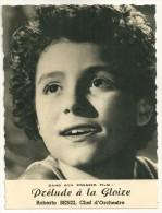 Roberto BENZI  (enfant)  Dans Son 1er Film PRELUDE A LA GLOIRE -  CHEF D´ORCHESTRE - Artisti