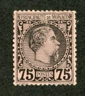 M-8  Monaco 1885 Michel #8*  Offers Welcome! - Neufs