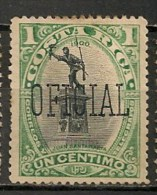 Timbres - Amérique - Costa Rica - Taxe - Oficial - 1900-1917 - 1 Centimo - - Costa Rica