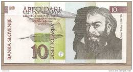 Slovenia - Banconota Non Circolata Da 10 Talleri - 1992 - Slovenia
