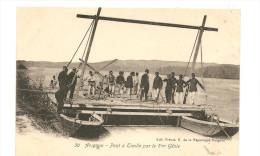 CPA 84 Guerre De 1914 Avignon Pont à Traille Par Le 7 ème Genie - Guerre 1914-18