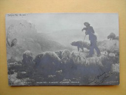 Le Salon De Paris De 1901. L'Enfant Prodigue Par P. Vayson. - Peintures & Tableaux