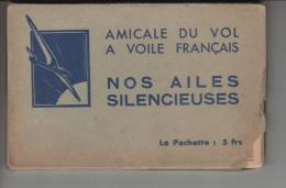 Amicale Du Vol A Voile Francais NOS AILES SILENCIEUSES CARNET Complet De 10 Cartes - France