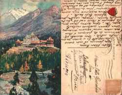 Canada, Hôtel Banff Springs - Publicité Canadian Pacific Railway, Chemin De Fer - Banff
