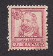 Cub, Scott #272, Mint Hinged, Antonio Maceo, Issued 1917 - Ungebraucht