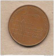 Giordania - Moneta Circolata Da 1 Qirsh - Jordanie