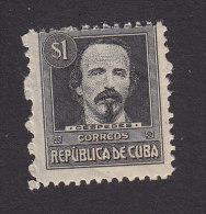 Cub, Scott #273, Mint Hinged, Antonio Maceo, Issued 1917 - Cuba
