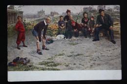 "USSR. ""Goalkeeper"" By Grigoriev. 1951 - Football - Soccer - Gardien De But - Calcio"