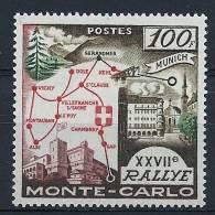 "Monaco YT 491 ""27e Rallye Automaobile De Monté-Carlo 100F.  "" 1958 Neuf ** - Monaco"