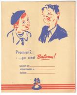 """Protège Cahier Ancien """"gateau"""" """"Baboum  (l'Alsacienne) - Buvards, Protège-cahiers Illustrés"""