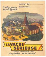 """Protège Cahier Ancien """"fromage""""  La Vache Sérieuse - Buvards, Protège-cahiers Illustrés"""