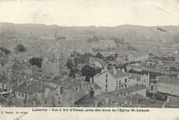 LORRAINE - 54 - MEURTHE ET MOSELLE - LUNEVILLE - VUe à Vol D'oiseau Prise Des Tours De L'église St Jacques - Luneville