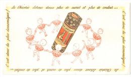 "Buvard Ancien ""Chicorée""  Leroux - Buvards, Protège-cahiers Illustrés"