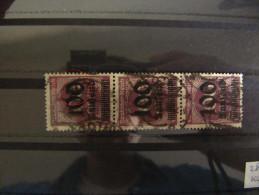 🔎 1923, Infla 100 Tsd. Mark Markanter Plattenfehler Error Mi. 289 O Used Value ??? - Usati