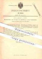 Original Patent - Otto Jordan In Kassel , 1881 , Mechanismus Für Zündhölzer , Sprengstoff , Zündholz !!! - Historische Dokumente
