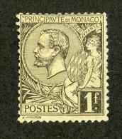 M-16A  Monaco 1891 Michel #20x (*) No Gum  Offers Welcome! - Nuevos