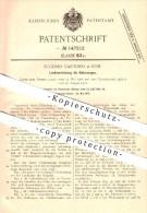 Original Patent - Eugenio Cantono In Rom , 1902 , Sterzo Dei Veicoli A Motore , Automobile !!! - Cars