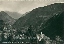 Aosta Champorcher Foto FG Cartolina KB1641 - Aosta