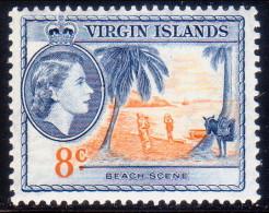 British Virgin Islands 1956 SG #155 8c MNH OG - British Virgin Islands