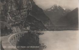 AK Arenstrasse Flüelen Bristenstock Kutsche Urnersee Vierwaldstättersee Uri Schweiz Suisse Bei Seedorf Altdorf Schwyz - UR Uri