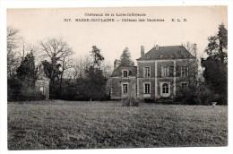 CPA - BASSE-GOULAINE - CHATEAU DES ONCHERES - N/b - 1917 - - France