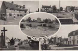 Yalding, Multi View Postcard, Circulated In 1964 (pk17879) - England