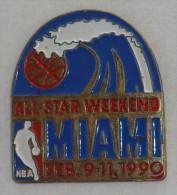 Pin's NBA, ALL STARS WEEK END, MIAMI 1990 - Baseball