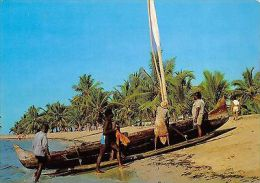 Africa Zil Elwagne Sesel Seychelles Boat Beach - Ohne Zuordnung