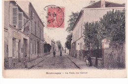Montmagny - La Poste,rue Carnot - Francia