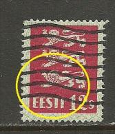 ESTLAND Estonia 1928 Michel 80 E: 7 ERROR Abart O - Estonia