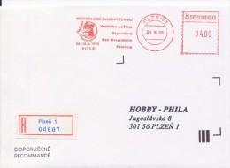 J0887 - Czechoslovakia (1992) Plzen 1: International Chess Tournament Mephisto GRAND PRIX '92 (R-letter) - Scacchi
