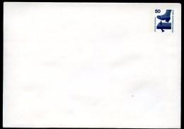 BERLIN PU58 A1/001b Privat-Umschlag BLANKO ** 1978  NGK 6,00 € - Sobres Privados - Nuevos