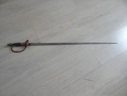 Épée Sans Fourreau//A Identifier/Original/A Voir!!!!     (4) - Armes Blanches