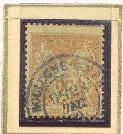 N°92 CACHET A DATE BELLE FRAPPE. - 1876-1898 Sage (Type II)