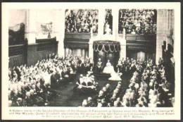 Ottawa Senate Chamber King George VI And Queen Elizabeth - Ottawa