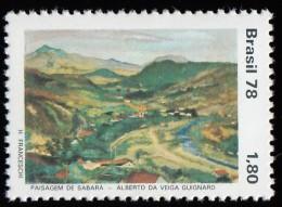 BRAZIL - Scott #1590 Castle Hill By Victor Meirelles (*) / Mint NH Stamp - Brazil