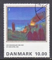 DENMARK  1033   (o)   ART  PAINTING - Denmark