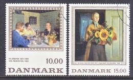 DENMARK  1061-2   (o)   ART  PAINTING - Denmark