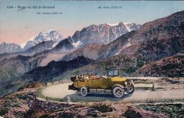 Route Du Gd St Bernard, Bus Postal (1024) - VS Valais