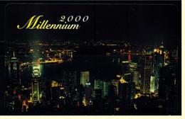 Telefonkarte  Millenium 2000  -  Hang Lung Real Estate Agency Limited  -  Hang Lung Group - Telefonkarten