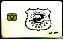 Telefonkarte  Golf-Club Main-Taunus  -  Wiesbaden  -  100 DM - Telefonkarten