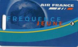 ETIQUETTE  A  BAGAGES  AIR FRANCE  Fréquence  Jeune - Étiquettes à Bagages