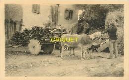 Cpa 64 Cambo Les Bains, Au Pays Basque, Attelage, N° 1, Charrettte De Bois - Cambo-les-Bains
