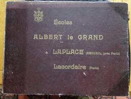 Livre Photos Ancien - Arcueil (94) Ecole Albert Legrand - Laplace - Paris, Lacordaire - école Militaire, Chevaux - 1901-1940